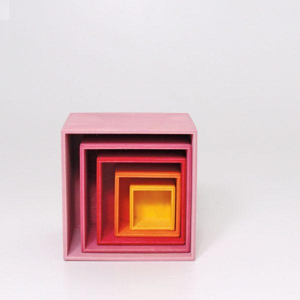 Cubi impilabili Boxes Lollipop Grimm's
