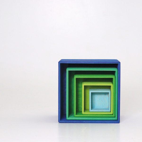 Cubi impilabili Boxes Ocean Grimm's
